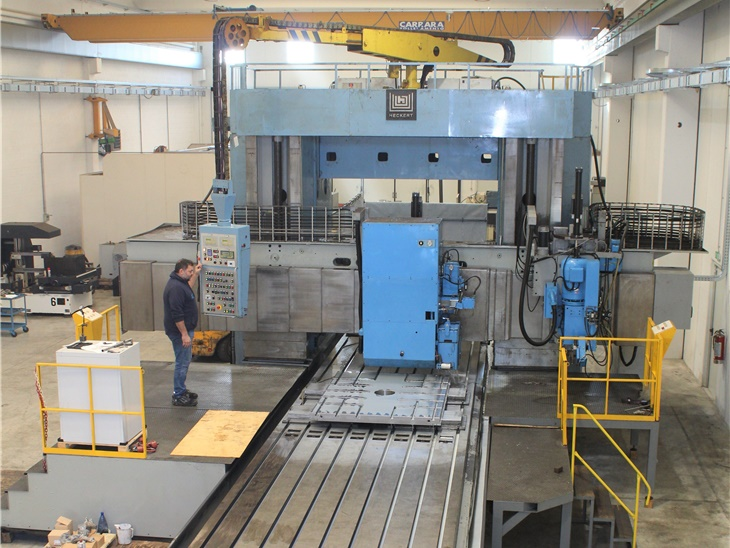 Grinding Machine   Heckert  X 10000 Y 2750  Z 1400
